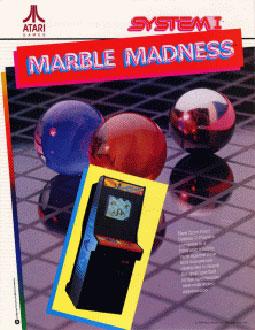 Portada de la descarga de Marble Madness