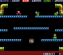 Imagen de la descarga de Mario Bros