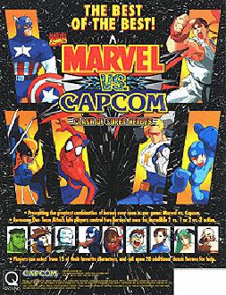 Portada de la descarga de Marvel Vs Capcom: Clash of Super Heroes
