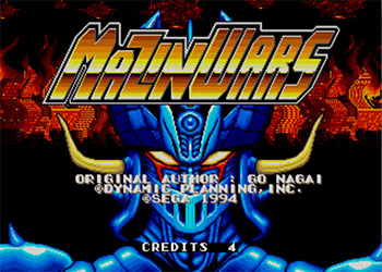 Juego online Mazin Wars (Mega Play) (MAME)