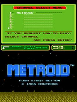 Portada de la descarga de Metroid