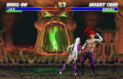 Pantallazo del juego online Mortal Kombat 3 (Mame)