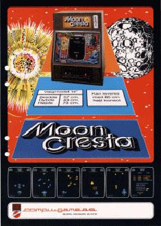 Portada de la descarga de Moon Cresta