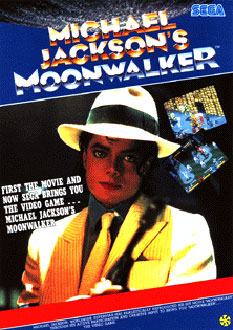 Carátula del juego Michael Jackson's Moonwalker (Mame)