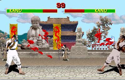 Pantallazo del juego online Mortal Kombat (Mame)