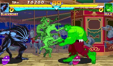 Imagen de la descarga de Marvel Super Heroes
