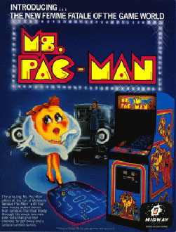Portada de la descarga de Ms Pac-Man
