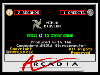 Portada de la descarga de Ninja Mission