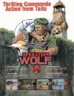 Portada de la descarga de Operation Wolf