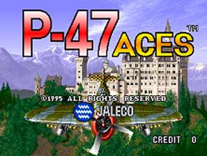 Portada de la descarga de P-47 Aces