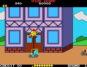 Pantallazo del juego online Pac-Land (Mame)