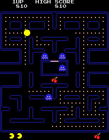 Pantallazo del juego online Pac-Man (Mame)