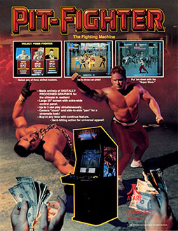 Juego online Pit-Fighter (MAME)