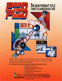 Juego online Pound for Pound (MAME)