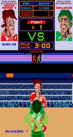 Pantallazo del juego online Punch-Out (Mame)