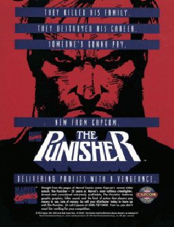 Carátula del juego The Punisher (Mame)