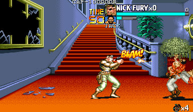Pantallazo del juego online The Punisher (Mame)