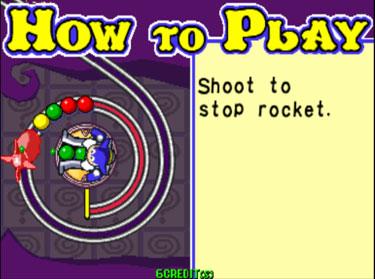 Pantallazo del juego online Puzz Loop 2 (Mame)