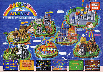 Juego online Rainbow Islands (MAME)