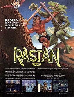 Portada de la descarga de Rastan