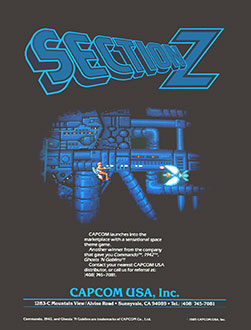 Juego online Section Z (MAME)