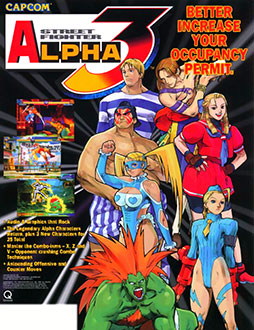 Juego online Street Fighter Alpha 3 (MAME)
