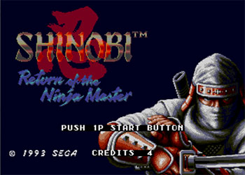 Juego online Shinobi III: Return of the Ninja Master (Mega Play) (MAME)