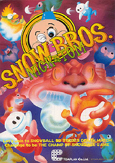 Portada de la descarga de Snow Bros