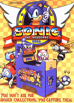 Juego online Sonic The Hedgehog (Mega Play) (MAME)