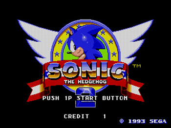 Juego online Sonic The Hedgehog 2 (Mega Play) (MAME)