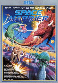 Portada de la descarga de Space Harrier