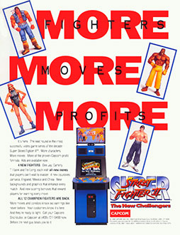 Juego online Super Street Fighter II: The New Challengers (MAME)