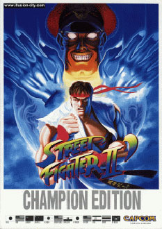 Carátula del juego Street Fighter II Champion Edition (Mame)