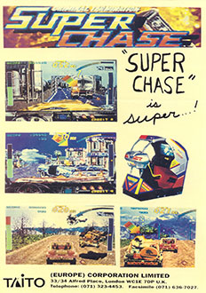 Juego online Super Chase: Criminal Termination (MAME)