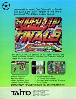 Juego online Super Cup Finals (MAME)