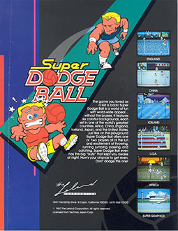 Juego online Super Dodge Ball (US) (MAME)