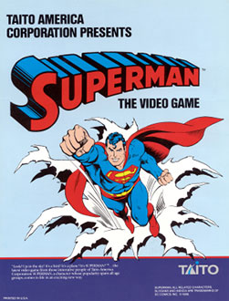 Juego online Superman (MAME)