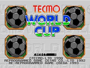Portada de la descarga de Tecmo World Cup