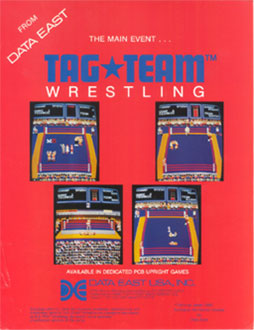 Juego online Tag Team Wrestling (MAME)