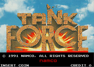 Juego online Tank Force (MAME)
