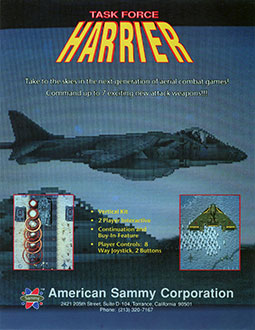 Juego online Task Force Harrier (MAME)