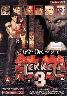 Portada de la descarga de Tekken 3