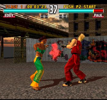 Pantallazo del juego online Tekken 3 (Mame)