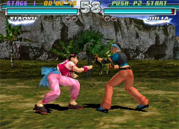 Imagen de la descarga de Tekken Tag tournament