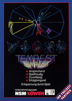 Juego online Tempest (MAME)