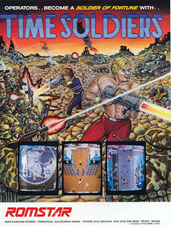 Juego online Time Soldiers (MAME)