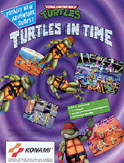 Juego online Teenage Mutant Ninja Turtles - Turtles in Time (Mame)