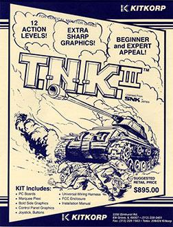 Juego online T.N.K III (MAME)