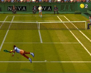Pantallazo del juego online Ultimate Tennis (Mame)