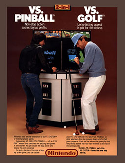 Juego online Vs. Pinball (MAME)
